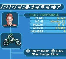 Play Championship Motocross 2001 Online