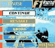 Play F-1 Racing Championship Online