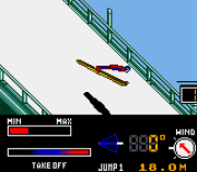 Play Konami Winter Games Online
